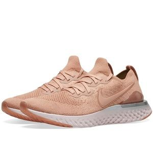 Rare NIKE EPIC REACT FLYKNIT 2 in ROSE GOLD